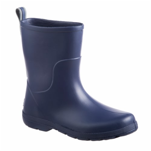Totes® Kid's Charley Tall Rain Boots - Navy Perspective: front