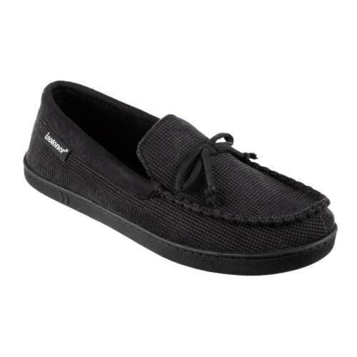 Totes Mini Box Cord Luke Moccasin with Lacing Perspective: front