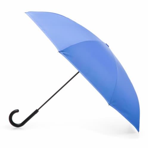 Totes Inbrella Reverse Close Umbrella Perspective: front
