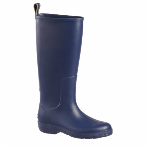 Totes® Women's Claire Tall Rain Boots - Navy Perspective: front