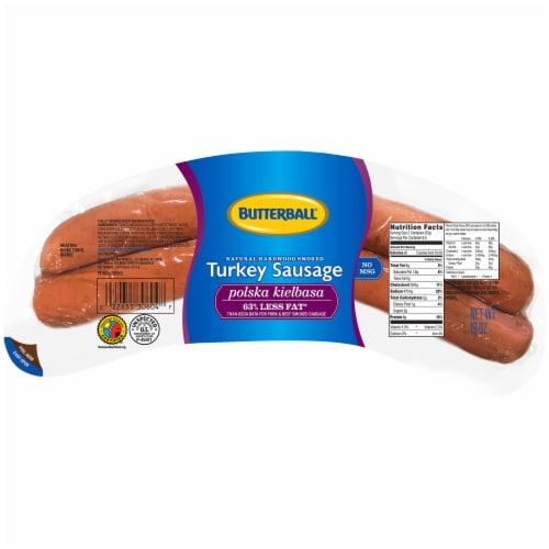 Butterball® Turkey Sausage Polska Kielbasa Perspective: front