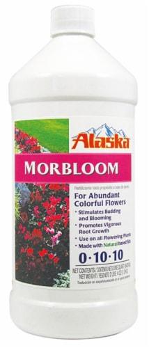 Alaska Morbloom Fertilizer Concentrate Perspective: front