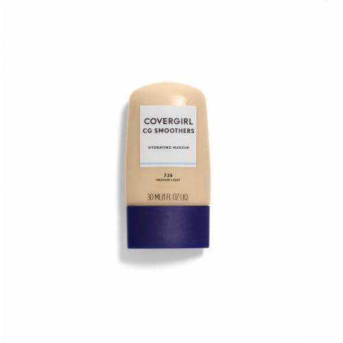 CoverGirl Aqua Smoothers Medium Light Foundation Perspective: front