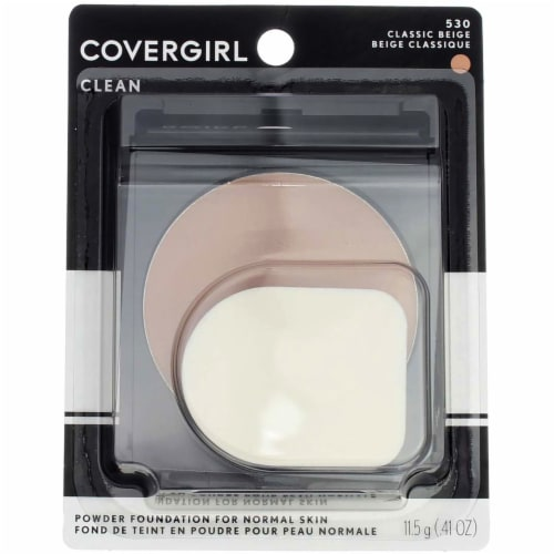 CoverGirl Simply Powder Classic Beige Foundation Perspective: front