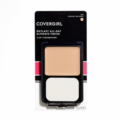 CoverGirl Outlast All-Day 420 Creamy Natural Ultimate Finish Perspective: front
