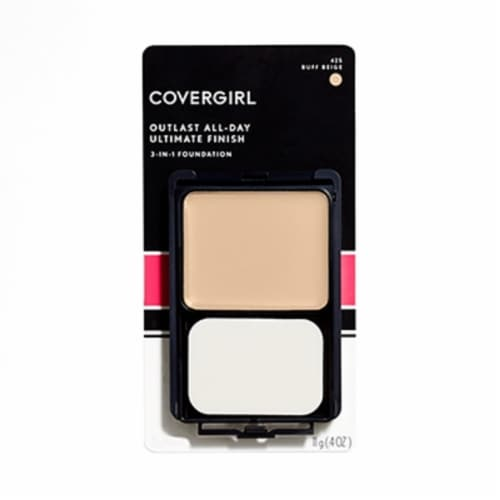 Covergirl 425 Buff Beige Ultimate Finish Liquid Powder Makeup Perspective: front