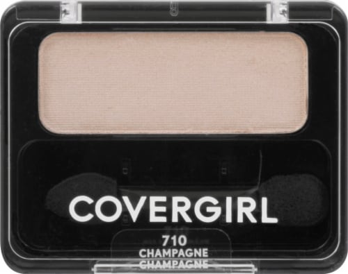 CoverGirl 710 Champagne Single Eyeshadow Perspective: front