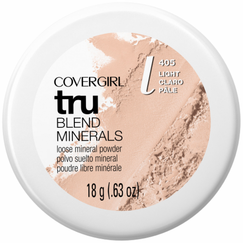 CoverGirl Tru Blend Minerals 405 Light Mineral Powder Perspective: front