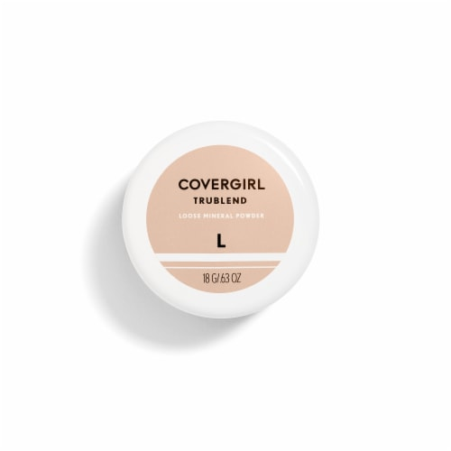 CoverGirl TruBlend 410 Medium Mineral Powder Perspective: front