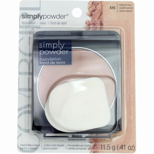 CoverGirl Simply Powder Natural Ivory Pressed Foundation Perspective: front