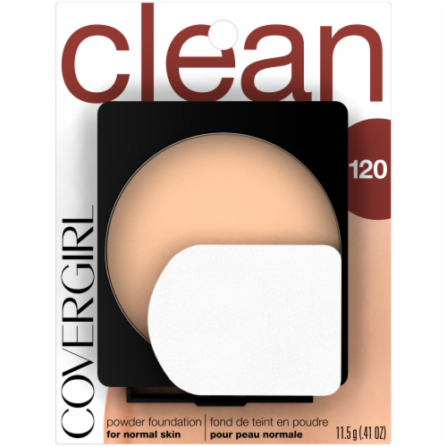 CoverGirl Clean 120 Powder Foundation Perspective: front