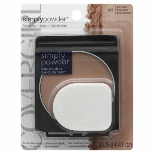 CoverGirl Simply Powder Buff Beige Foundation Perspective: front