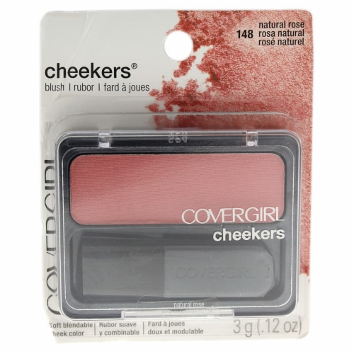 Covergirl Cheekers Blush  # 148 Natural Rose 0.12 oz Perspective: front