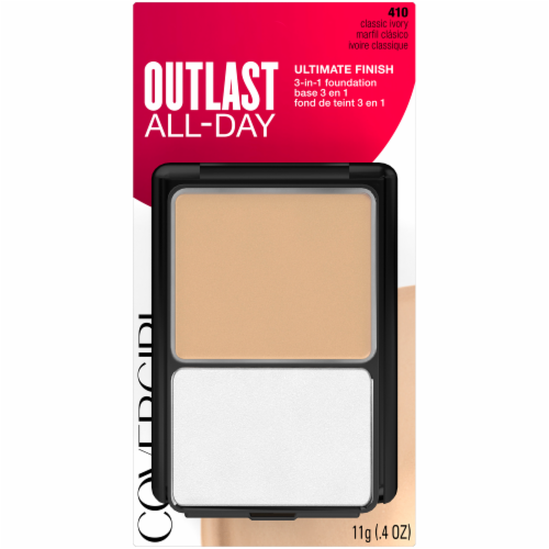 CoverGirl Outlast All-Day Ultimate Finish Classic Ivory 3-In1 Foundation Perspective: front