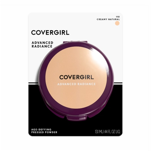 CoverGirl Advanced Radiance Creamy Natural Age Defying Pressed Powder Perspective: front