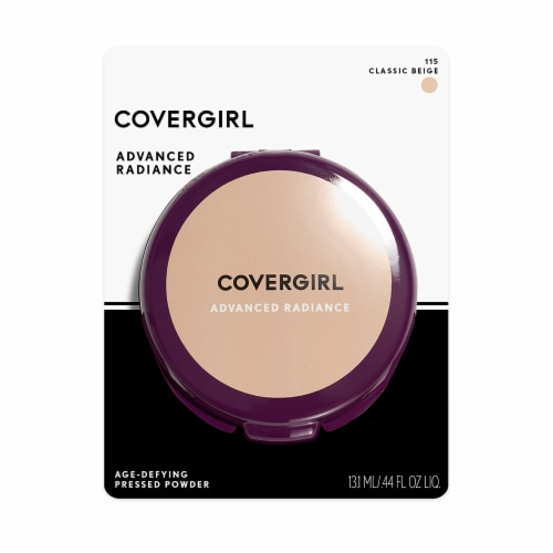 CoverGirl Advanced Radiance Classic Beige Pressed Powder Perspective: front