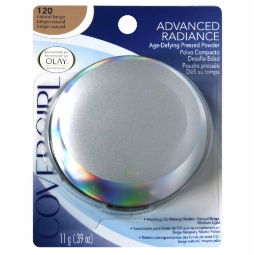 CoverGirl Advanced Radiance Natural Beige Pressed Powder Perspective: front