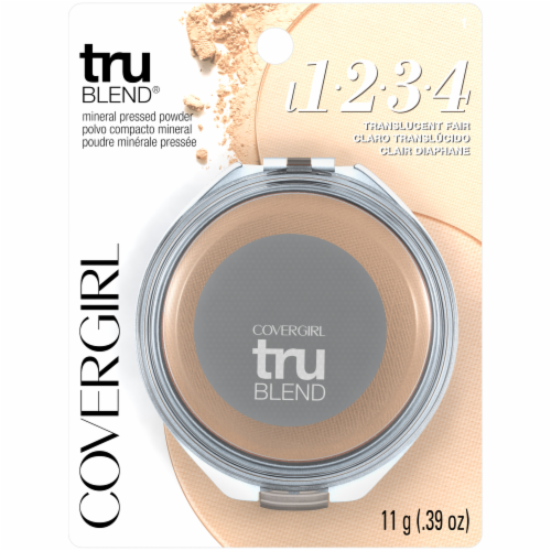 CoverGirl TruBlend Translucent Fair Pressed Powder Perspective: front