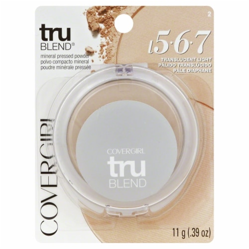 CoverGirl Translucent Light truBLEND Mineral Pressed Powder Perspective: front