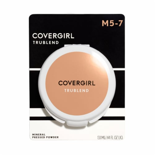 CoverGirl Translucent M-57 Medium truBLEND Mineral Pressed Powder Perspective: front