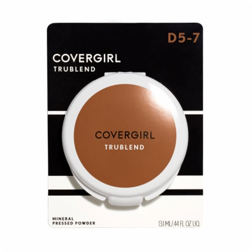Covergirl Trublend Translucent Sable Pressed Powder Perspective: front