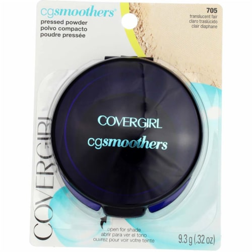 CoverGirl CG Smoothers 705 Translucent Fair Pressed Powder Perspective: front
