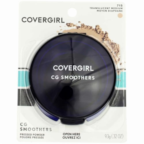 CoverGirl CG Smoothers Translucent  Medium Pressed Powder Perspective: front