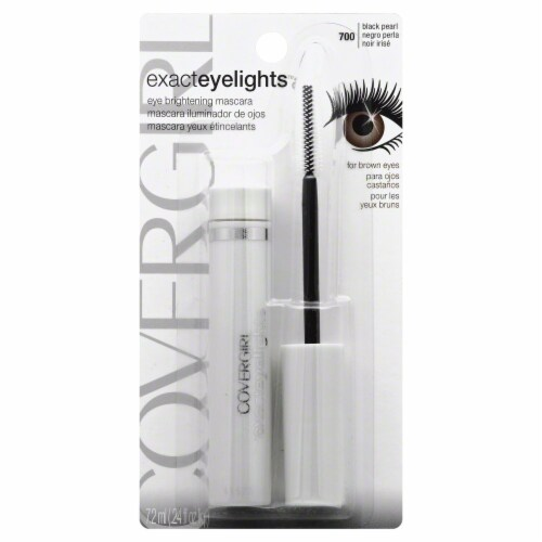 CoverGirl Exact Eyelights Black Pearl Mascara Perspective: front