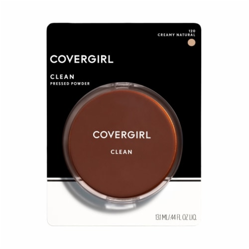 CoverGirl Clean 120 Creamy Natural Normal Skin Pressed Powder Perspective: front