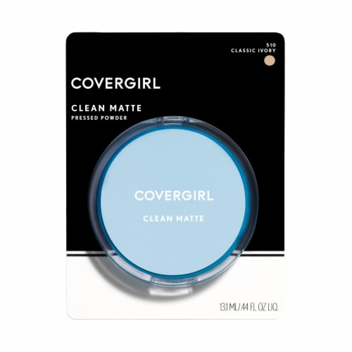 CoverGirl 510 Classic Ivory Oil Control Clean Matte Pressed Powder Perspective: front