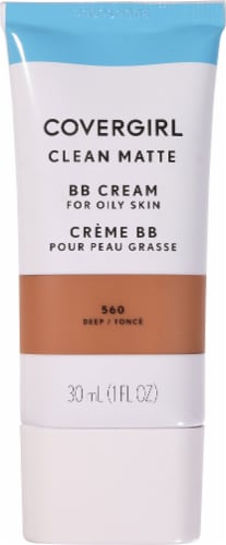 CoverGirl 560 Deep Clean Matte BB Cream Perspective: front