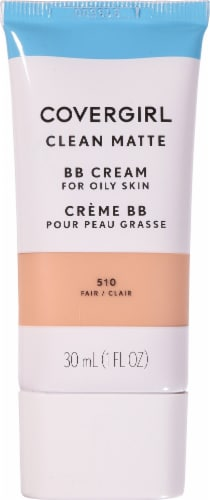 CoverGirl 510 Fair Clean Matte BB Cream Perspective: front