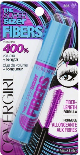 CoverGirl 805 The Super Sizer Fibers Mascara Perspective: front