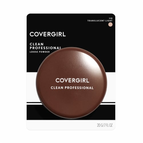 CoverGirl 110 Translucent Light Clean Professional Loose Powder Perspective: front