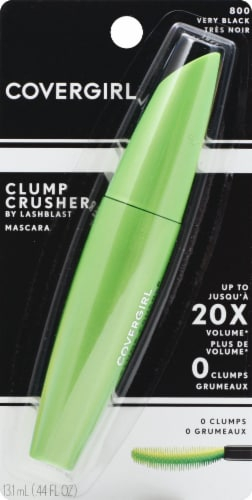 CoverGirl LashBlast Clump Crusher 800 Very Black Mascara Perspective: front