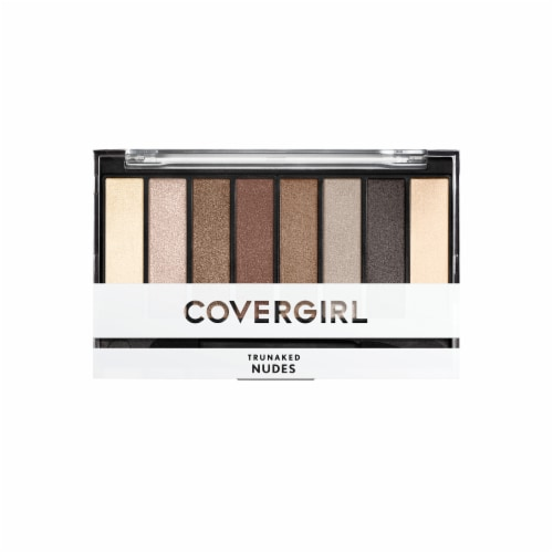 CoverGirl Nudes TruNaked Eyeshadow Palette Perspective: front