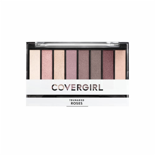 CoverGirl Roses TruNaked Eyeshadow Palette Perspective: front