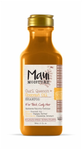 Maui Moisture Curl Quench + Coconut Oil Shampoo Perspective: front