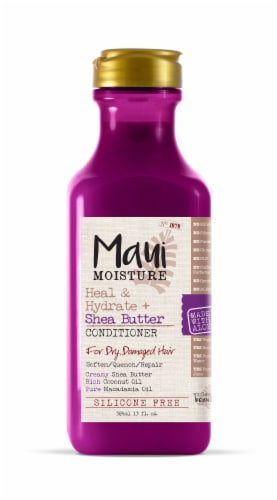 Maui Moisture Heal & Hydrate + Shea Butter Conditioner Perspective: front