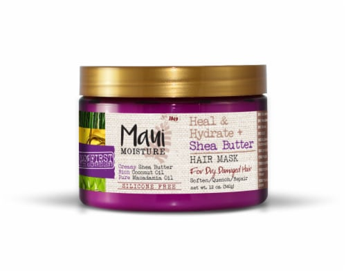 Maui Moisture Heal & Hydrate + Shea Butter Hair Mask Perspective: front
