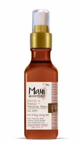 Maui Moisture Smooth & Repair + Vanilla Bean Oil Mist Perspective: front