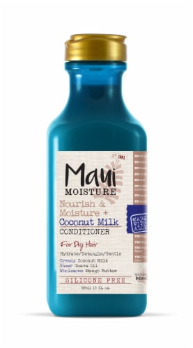 Maui Moisture Nourish & Moisture + Coconut Milk Conditioner Perspective: front