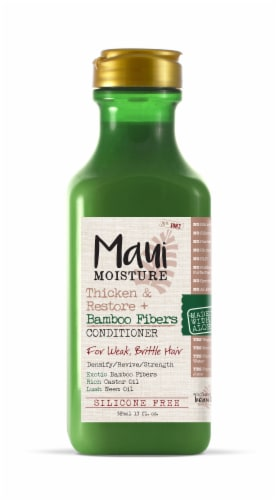 Maui Moisture Thicken & Restore + Bamboo Fibers Conditioner Perspective: front