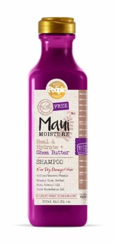 Maui Moisture Heal & Hydrate + Shea Butter Shampoo Perspective: front