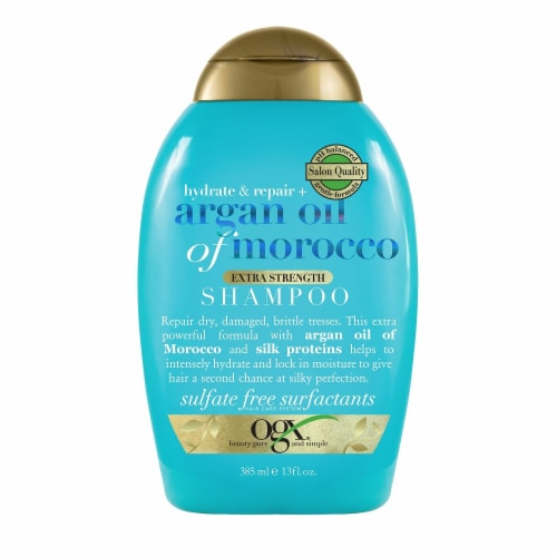 OGX Argan Oil of Morocco Extra Strength Shampoo Perspective: front