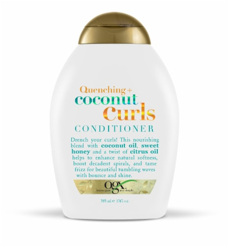 OGX Quenching Coconut Curls Conditioner Perspective: front