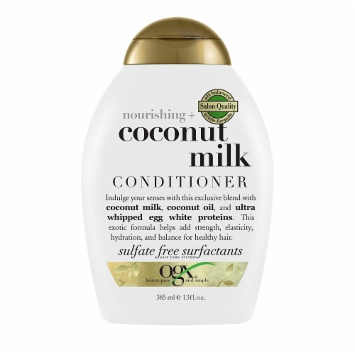 OGX Nourishing Coconut Milk Conditioner Perspective: front