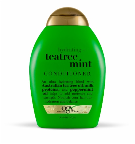 OGX Teatree Mint Conditioner Perspective: front