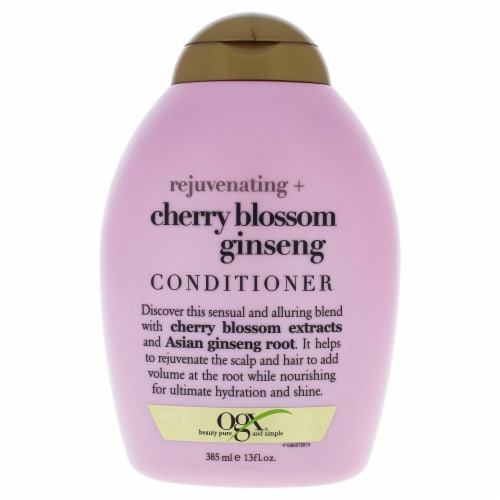 Ogx  Rejuvenating Cherry Blossom Conditioner Perspective: front