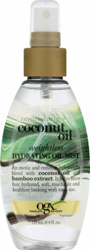 OGX Nourishing Coconut Oil Hydrating Mist Perspective: front